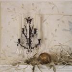 Bird at Fireplace