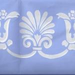 Acanthus Border Blue