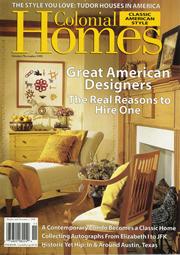 Colonial Homes November 1999 Article
