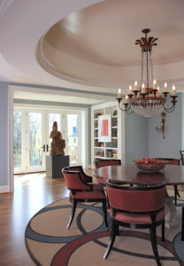 DC Designer Show House - View To French Doors