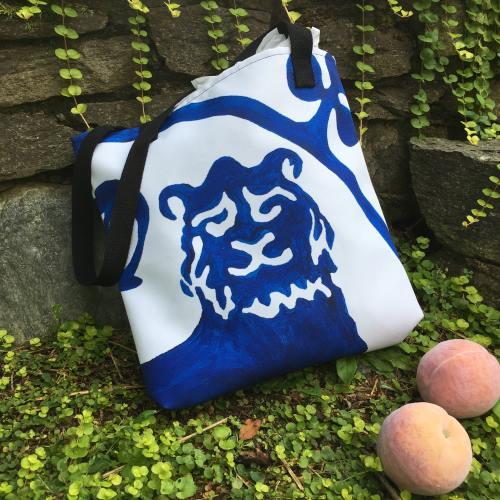 Guardian Lion Tote Bag