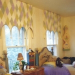 Harlequin Window Treatment