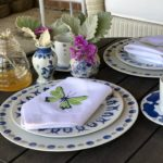 Outdoor Entertaining Tablescape for Earth Day