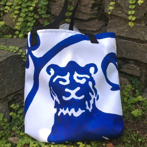 Tote Bag Guardian Lion
