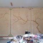 Potomac Plum Blossom Mural
