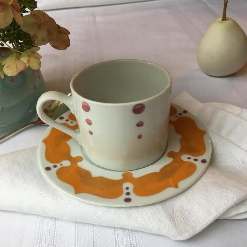 Kismet Saffron Cup & Saucer