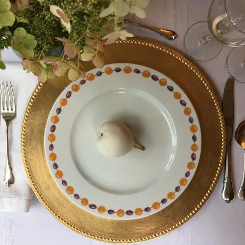 Kismet Saffron Dinner Plate
