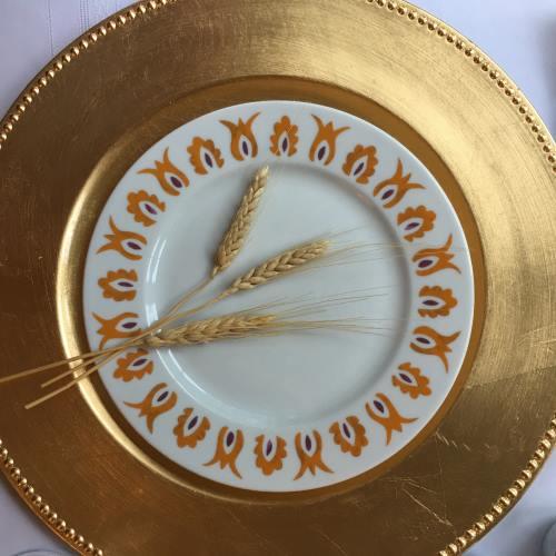 Kismet Saffron Salad Plate