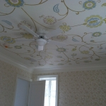 Blossom Pattern Ceiling