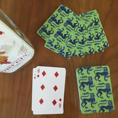 Playing Cards Gin Rummy
