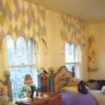 Funky Stripe & Window Treatment