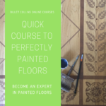 Shortcut Course to Perfectly Painted Floors