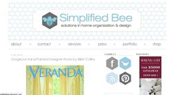 Simplified Bee: in Green