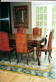 Floorcloths – Design Solutions for Under the Table