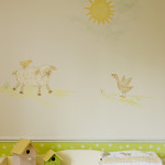 Nursery Walls and Simple Mural Ideas